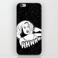Classic horror movie scream iPhone & iPod Skin