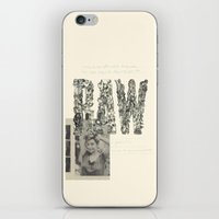 RAW iPhone & iPod Skin