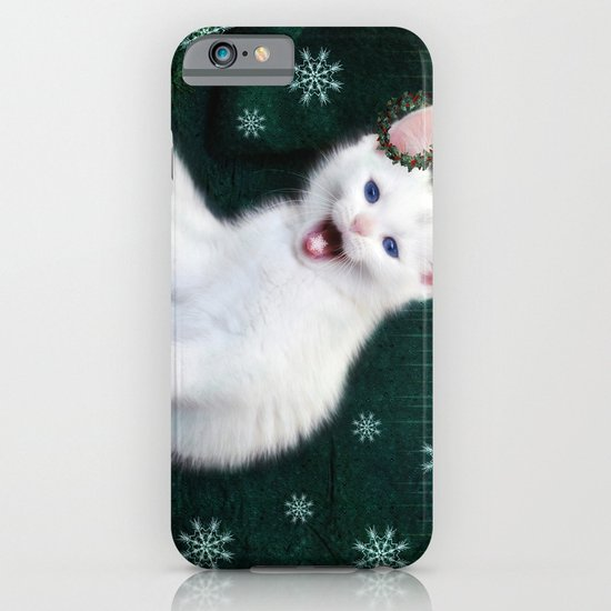 Catching Snowflakes iPhone & iPod Case