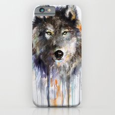 Charcoal Wolf  iPhone 6s Slim Case