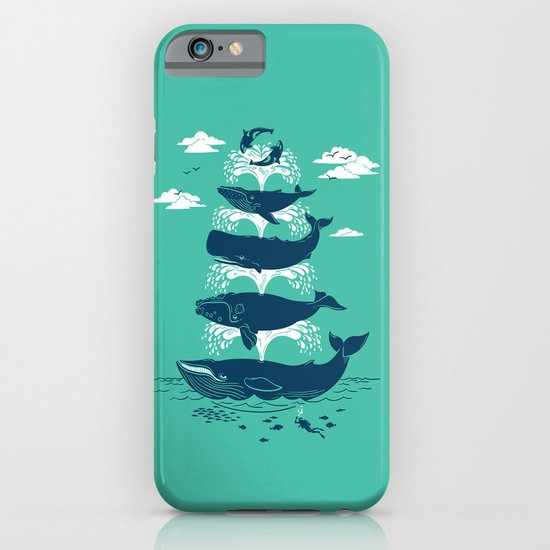 Whale of a Time iPhone & iPod Case