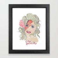 Dolly Stardust Framed Art Print