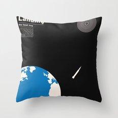 First Moon Landing Apollo 11 Throw Pillow
