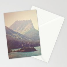 Retro Glacier Stationery Cards