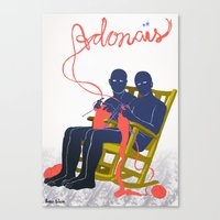 Adonais Canvas Print