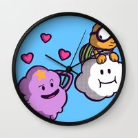 Lumpy Space Princess: You know you want these lumps! Wall Clock
