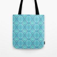 Ocean Melt Kaleido Pattern Tote Bag