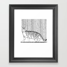 Inkcat5 Framed Art Print