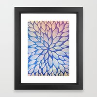 Petal Burst #17 Framed Art Print