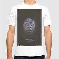 Exorcist Mens Fitted Tee White SMALL