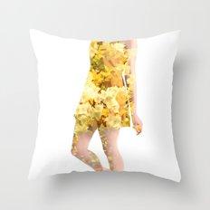 Honey Hope Throw Pillow