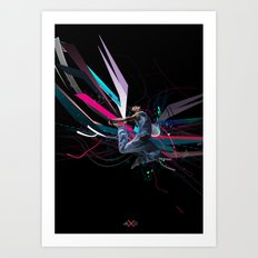 THE DANCER 2 Art Print