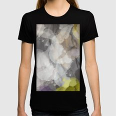 Abstract XII Womens Fitted Tee Black SMALL