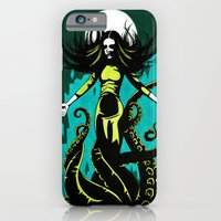 iPhone & iPod Case featuring The Summoning by Minerva Mopsy
