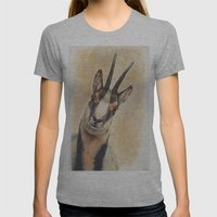 Chamois Womens Fitted Tee Athletic Grey SMALL