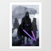 Jedi Hunters Art Print