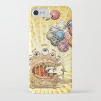 monster iPhone & iPod Cases featuring Monster by José Luis Guerrero