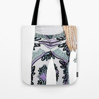 peace sign skeleton Tote Bag