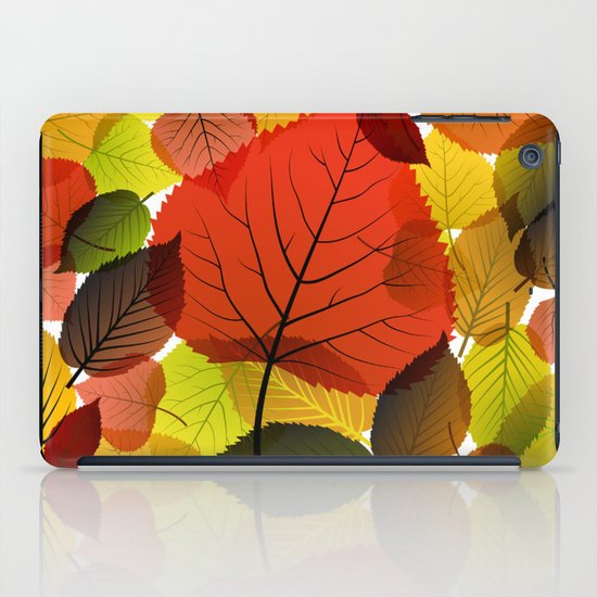 AUTUMN IS BACK iPad Case