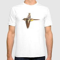 Happy Trails  Mens Fitted Tee White SMALL