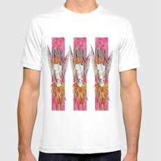 The Ultimate Pollinator, Triptych Mens Fitted Tee White SMALL