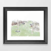 Monument Framed Art Print