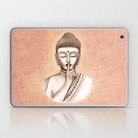 Buddha Shh.. Do Not Dist… Laptop & iPad Skin