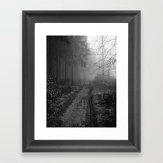 Woodway Framed Art Print