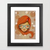Hey cute! Framed Art Print