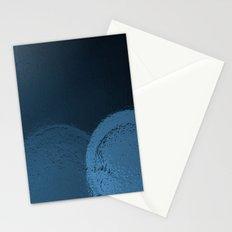 Dark Night Blues Stationery Cards