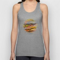 Watercolor abstract landscape 26 Unisex Tank Top