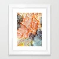 Folds I Framed Art Print