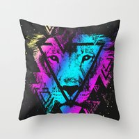 Eyes Of Life Throw Pillow
