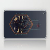 Laptop & iPad Skin featuring The Dark Woods by Hector Mansilla