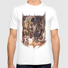 The Charge Part 2 White SMALL Mens Fitted Tee