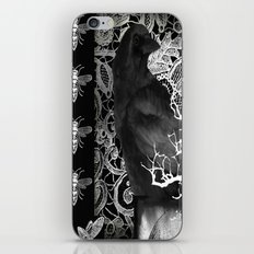 Crow And Lace iPhone & iPod Skin