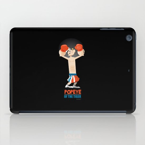 coupling up (accouplés) Popeye of the tiger iPad Case