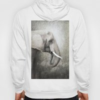 The old elephant Hoody