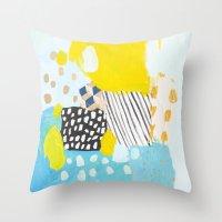 Eternal Optimist - Avail… Throw Pillow
