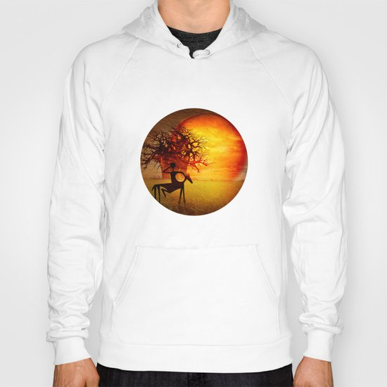 Visions of fire Hoody