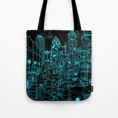 London! Night Tote Bag