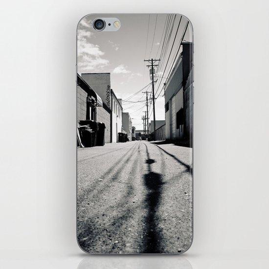 Alley shadows iPhone & iPod Skin