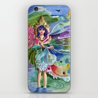 Soul Of The Sea -Marina iPhone & iPod Skin