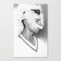 A Perfect Nothing Canvas Print