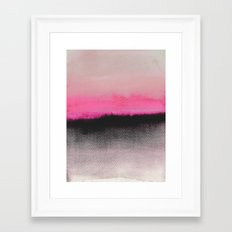 Double Horizon Framed Art Print