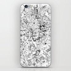 Fragments of dream iPhone & iPod Skin