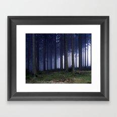 Foggy Framed Art Print