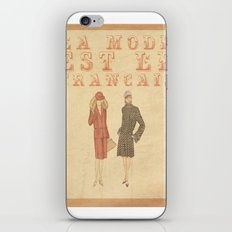 French Fashion iPhone & iPod Skin