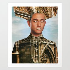 Oracle (City Eater) Art Print