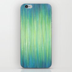 Ombre Aqua Bliss painting iPhone & iPod Skin